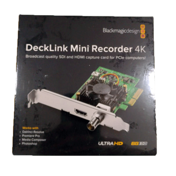 DeckLink Mini Recorder 4k