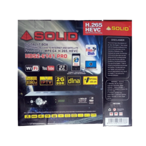 Solid Set top box 6141 pro
